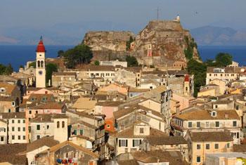 Panorama di Corfù