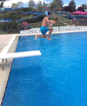 Attività alle piscine intercomunali di Tavernelle