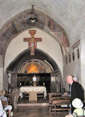 Il santuario di San Damiano ad Assisi
