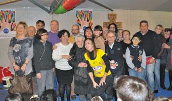 Il gruppo dei volontari della San Vincenzo