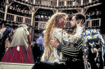 Una scena del film Shakespeare in love di John Madden
