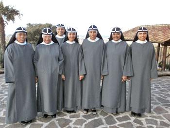 La comunità delle suore Brigidine di Assisi