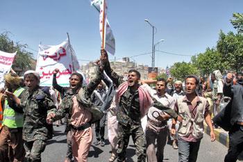 Manifestazioni e proteste in Yemen