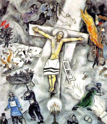 """""""Crocifissione Bianca"""" Marc Chagall (1938), conservato nell'""""The Art Institute"""" di Chicago"""