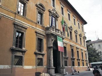 Palazzo Donini sede della Giunta della Regione dell'Umbria