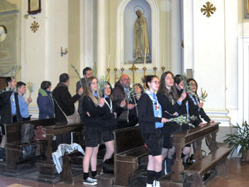 Un momento della Giornata diocesana della gioventù