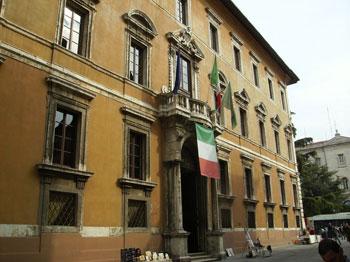Palazzo Donini sede della Giunta regionale umbra