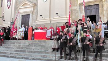 La celebrazione del patrono a Calvi