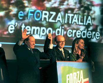 Silvio Berlusconi e Claudio Ricci