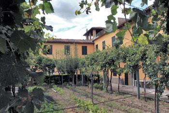 La casa madre dell'istituto a Città di Castello