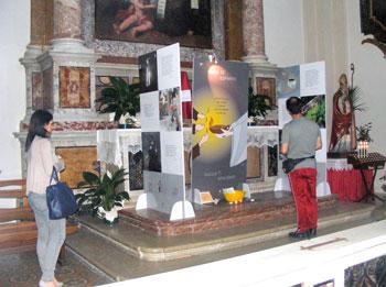 """La Mostra Itinerante """"Nata per Te"""" allestita nella chiesa di S. Valentino a Terni"""
