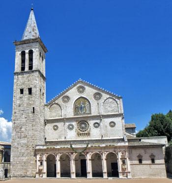 La cattedrale di Spoleto