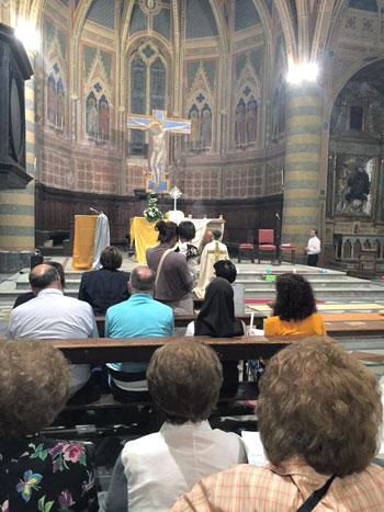La celebrazione in chiesa