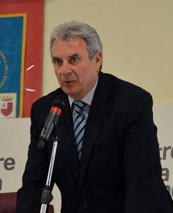Domenico Petruzzo dirigente dell'Usr Umbria