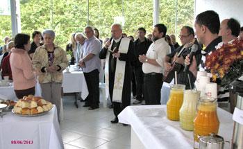 """Inaugurazione della Casa per """"moradores de rua"""" a Palhoça (Brasile)"""