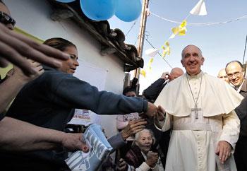Papa Francesco in Paraguay visita Bañado Norte, quartiere povero di Asunción