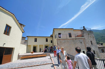 La casa parrocchiale di Ceselli