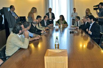 L'insediamento della seconda commissione