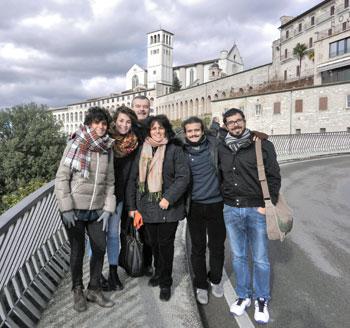 Paola e Maurizio Leonardi con i figli Luca e Andrea e le figlie Maria Letizia e Maria Giulia