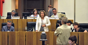 Il Consiglio regionale in assemblea