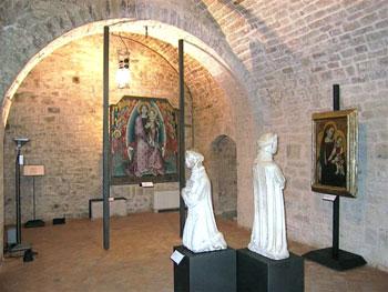 Una sala del Museo diocesano di Gubbio