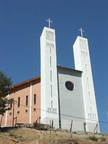 La chiesa di San Giuseppe in Albania
