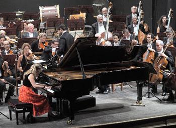 L'esibizione di Lisa de la Salle (Foto A. Scognamillo)