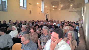 I partecipanti all'Assemblea diocesana