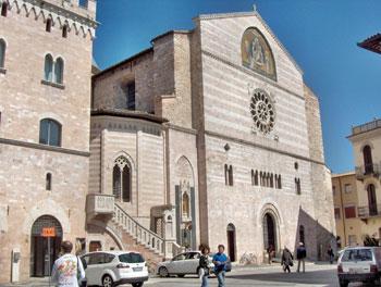 La cattedrale di Foligno