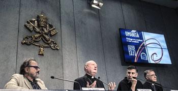 """La conferenza stampa di presentazione dell'iniziativa il """"Cortile di Francesco"""""""