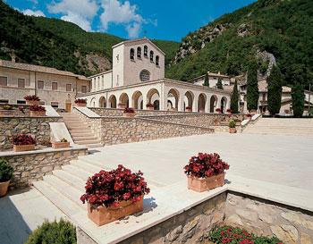 Roccaporena, il luogo che ha ospitato i corsi di formazione