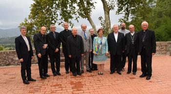 I vescovi umbri con i due prefetti