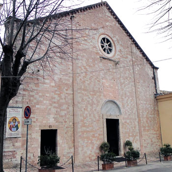 La chiesa di Santa Maria Maggiore a Assisi
