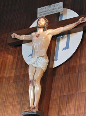 Il Crocifisso del Santuario dell'Amore Misericordioso di Collevalenza