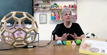 Emanuela Ughi studiosa di matematica dell'Università e ideatrice del progetto