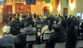 """Un momento dell'incontro sul tema """"Cristianesimo e islam, quale dialogo è possibile?"""" che si è svolto a Umbertide"""