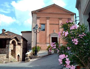 La chiesa dei Santi Pietro e Paolo in Fossato di Vico
