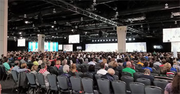 Sala conferenze plenarie