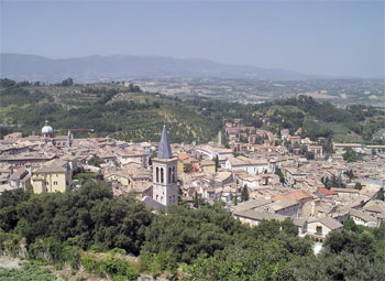 Panorama di Spoleto