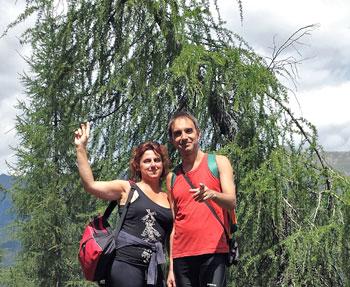 Elisabetta Giorgi e Mauro Pierucci