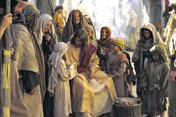 """""""Gesù benedice i bambini"""" scena tratta dal film """"The Testaments"""""""
