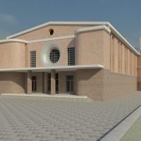 Il progetto del nuovo centro pastorale