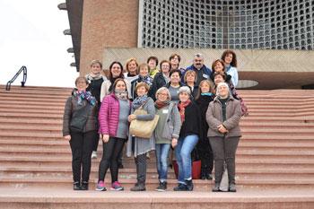 Il gruppo che ha partecipato al 21° Corso donne dei Cursillos