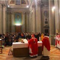 celebrazione solennità di sant'ercolano nella chiesa universitaria