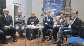 """L'incontro di presentazione dell'edizione 2015 del Film festival """"Popoli e religioni"""""""