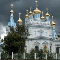 La cattedraleortodossa di Daugavpils inLettonia