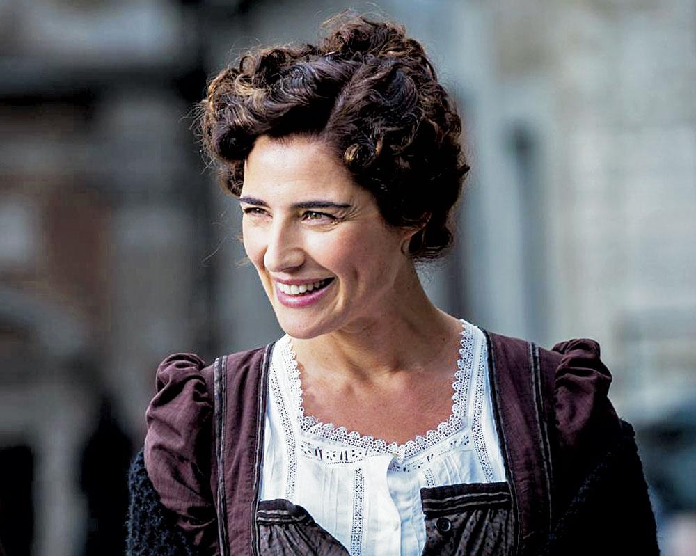 """Dalla fiction di Rai 1 """"Luisa Spagnoli"""""""