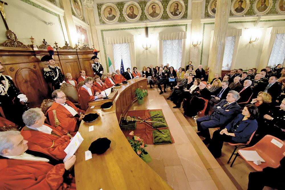 L'inaugurazione dell'Anno giudiziario a Perugia