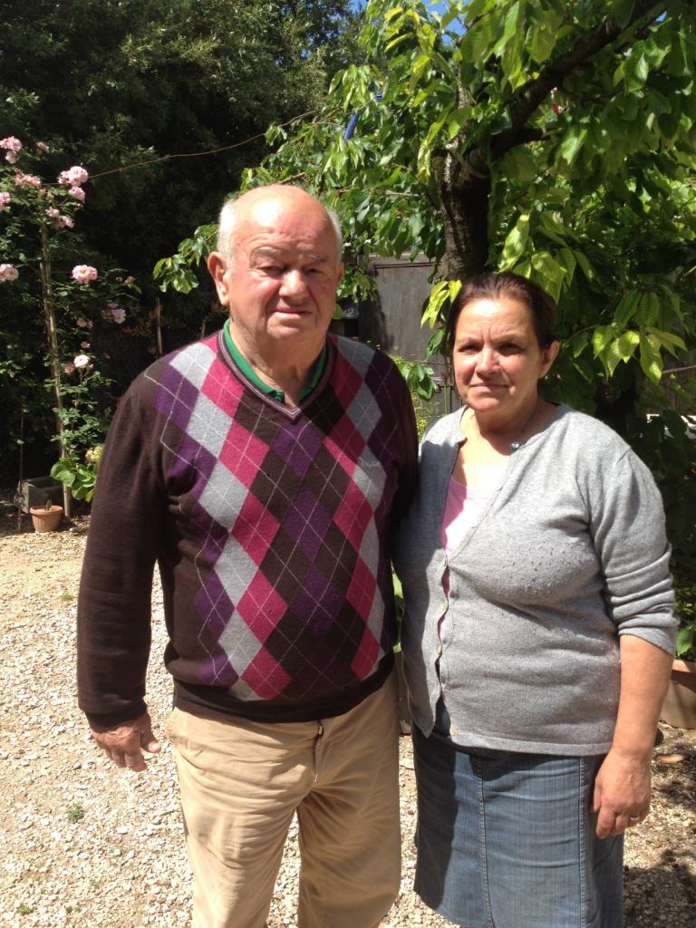 I genitori Caterina e Mario
