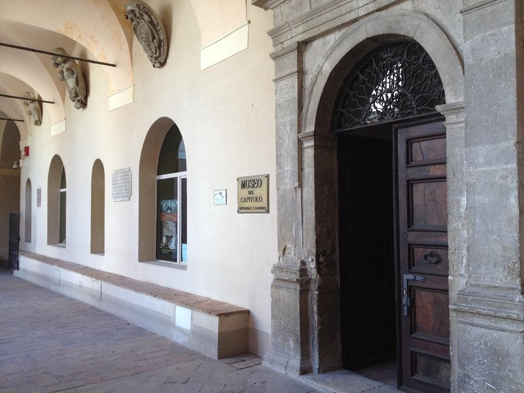 L'ingresso del Museo della Cattedrale